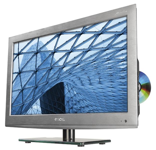 enox 22 zoll LED TV AIL-1622S2DVD mit DVB-S2
