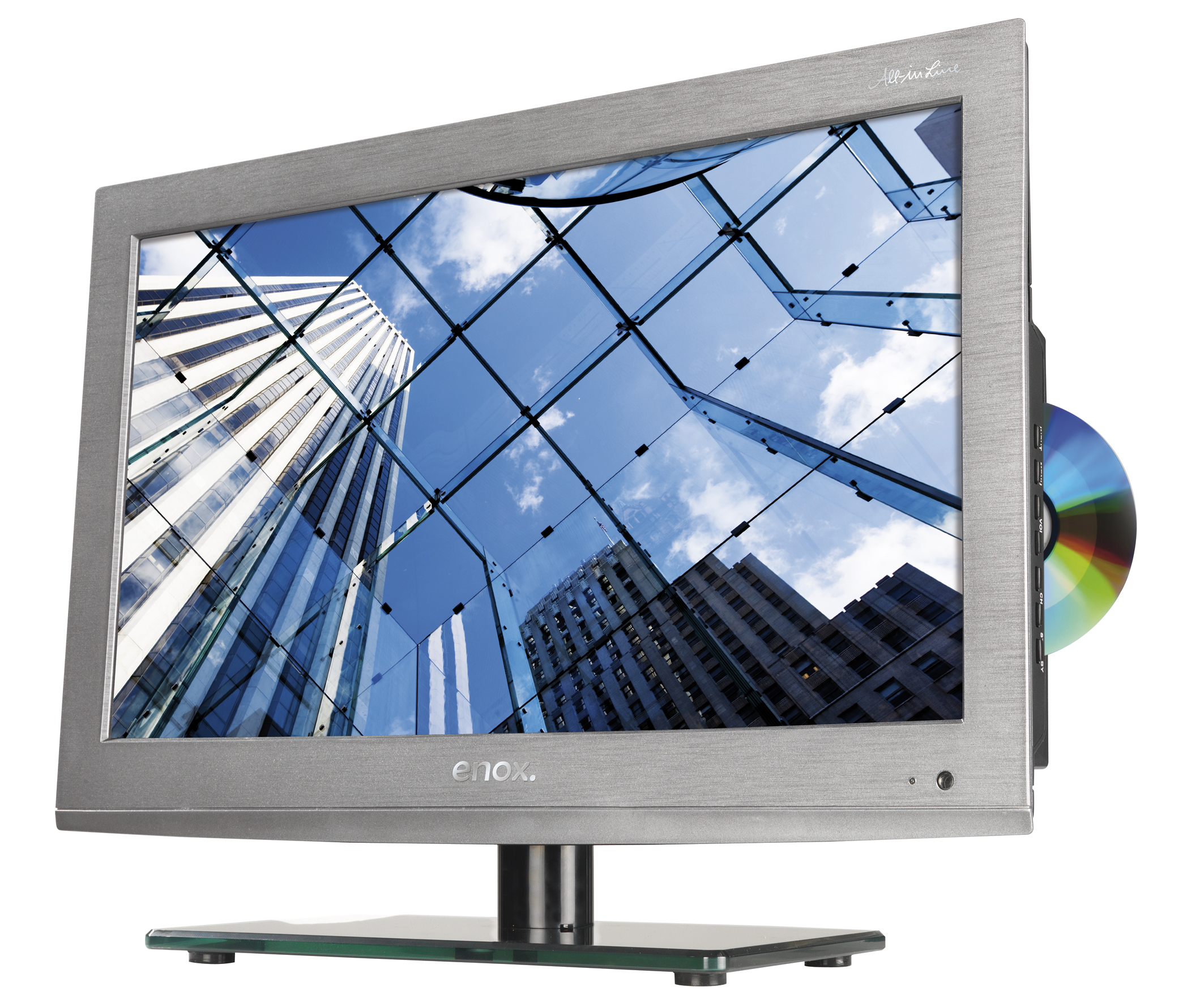 enox 19 zoll LED TV AIL-2519S2DVD mit DVB-S2 für 12V