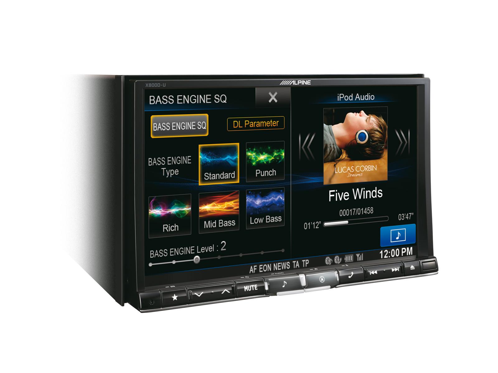 Alpine X800D-U Advanced Navi Station 20 cm (8-Zoll) XL-Display