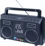 Roadstar TRA-800BT Stereo Bluetooth Radio mit eingebautem Li-Ion