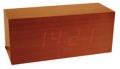 Design Wecker im Holzgehäuse