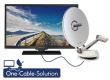 Alphatronics SL-22 DSB+ K mit Triple Tuner, DVD für 12/230V