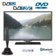 Alphatronics SL-24 DSBI+ Smart LED TV 60cm, Triple Tuner, DVD